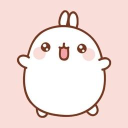 Cute Cartoon Bunny Stickers