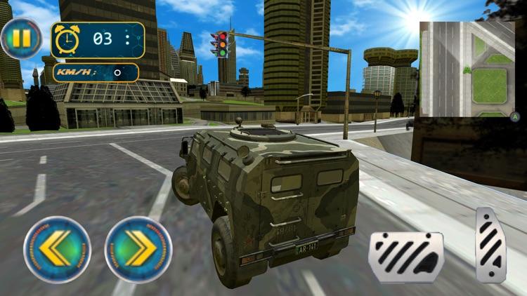 Army Robot Transform War 3D screenshot-5