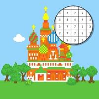 Codes for Landmark Pixel Color by Number Hack