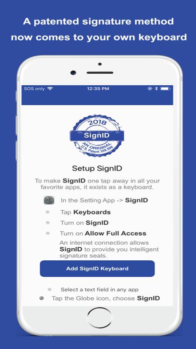 SignID Signature Keyboard screenshot 3
