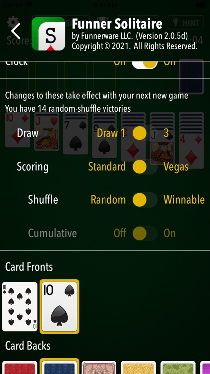 Solitaire - The Best Card Game screenshot-4