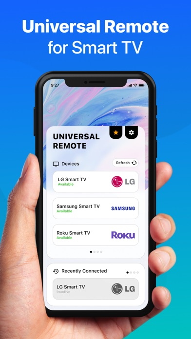 Universal Remote for Smart TV+ Screenshot