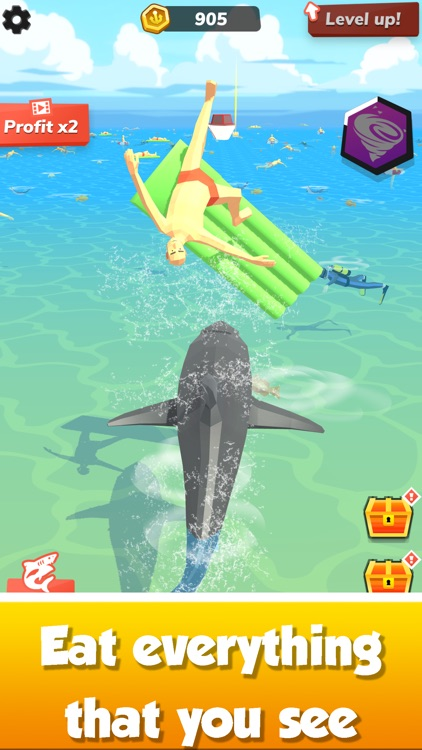 Idle Shark World - Tycoon Game screenshot-1