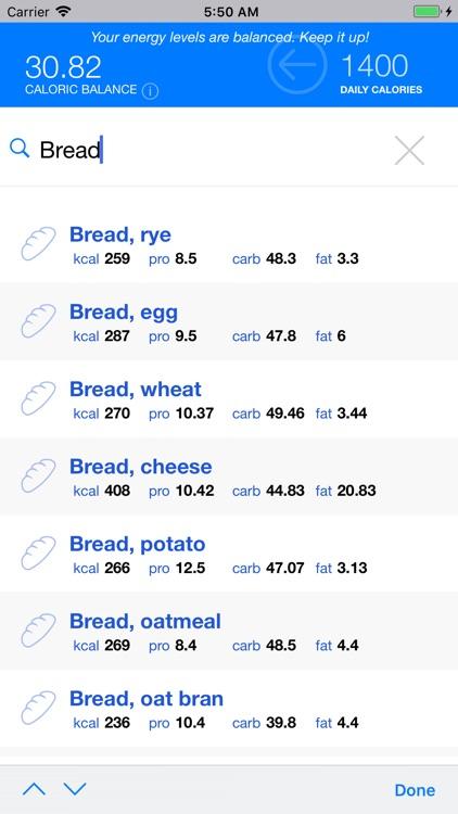Scientific Diet Clock screenshot-6