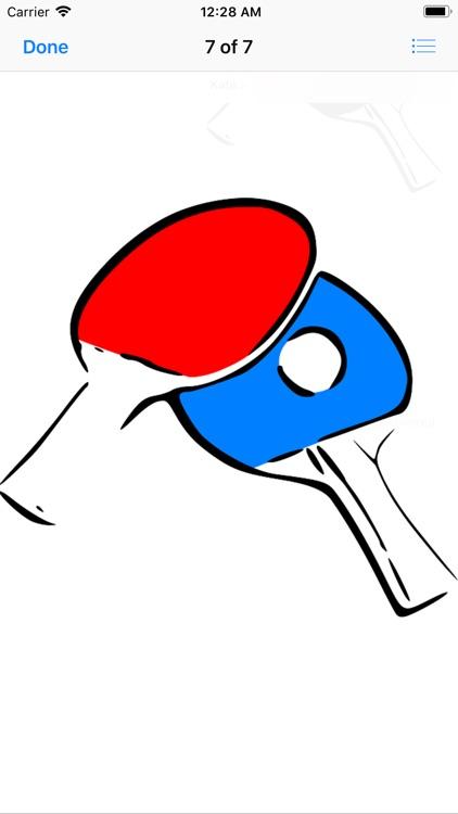 Play Ping Pong Stickers screenshot-5