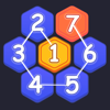 Bich Bui - Number Hexagon Puzzle  artwork