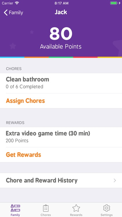 Family Chore Manager & Tracker