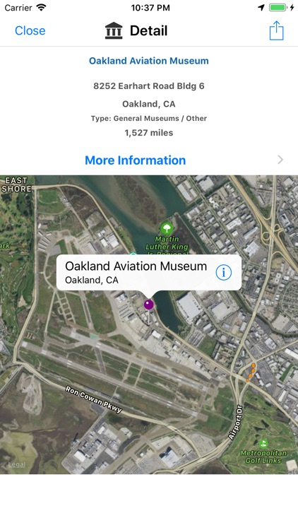 U.S. Museum Locator