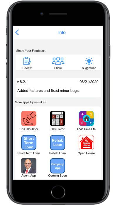 Loan Calculator | PMI- LiteScreenshot of 7