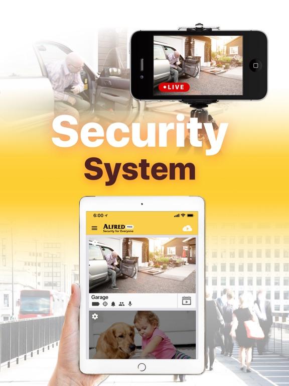 Alfred Home Security Camera - AppRecs