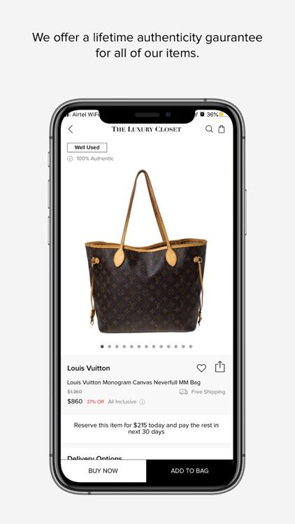 The Luxury Closet - Buy & Sell screenshot-3