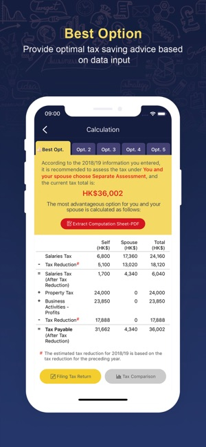 HK Salaries Tax Calculator on the App Store
