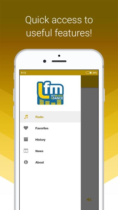 LFM Radio screenshot three