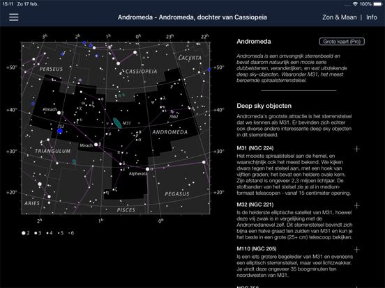Ad Astra - Sterrenatlas iPad app afbeelding 1