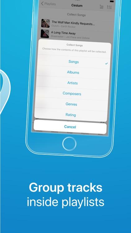 Cesium Music Player screenshot-3