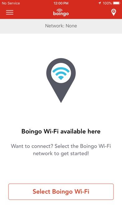 Boingo Wi-Finder Screenshot