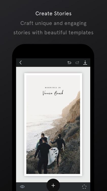Unfold — Create Stories screenshot-0