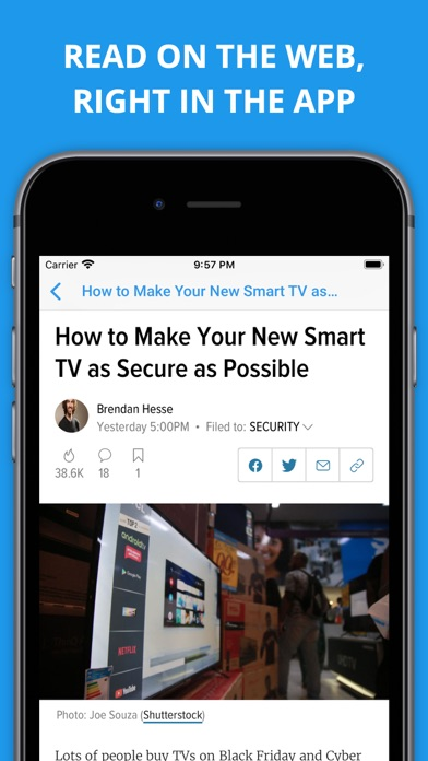 Newsify: RSS Reader iPhone