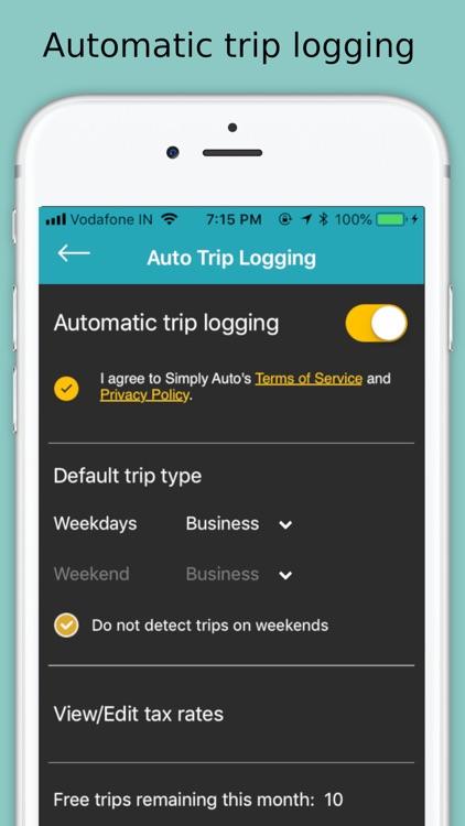 Simply Auto: Mileage Tracker screenshot-4