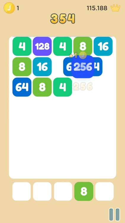 Strike the Tile - Merge 2048 screenshot-2