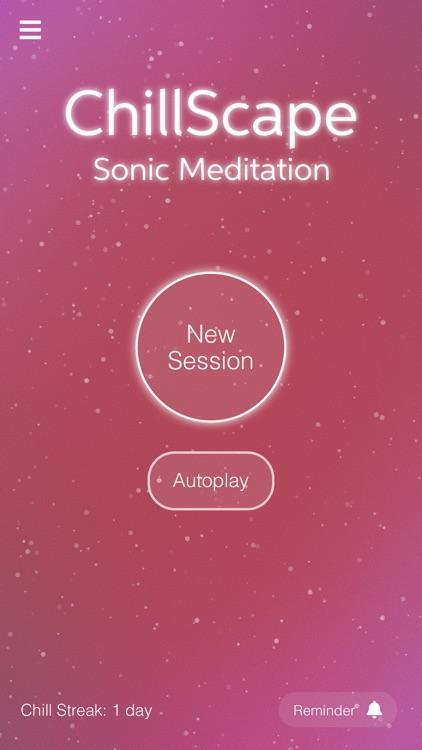 ChillScape - Sonic Meditation screenshot-1