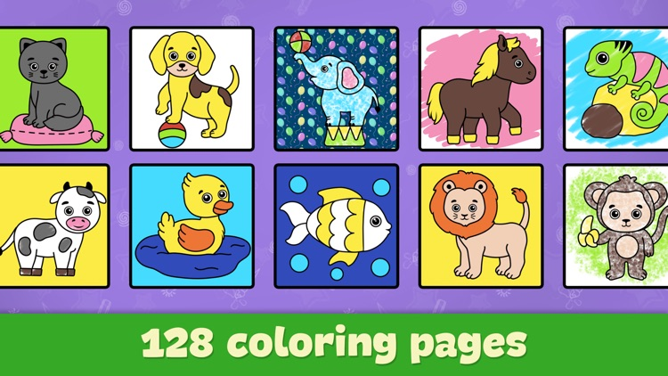 Drawing for kids: doodle games screenshot-4