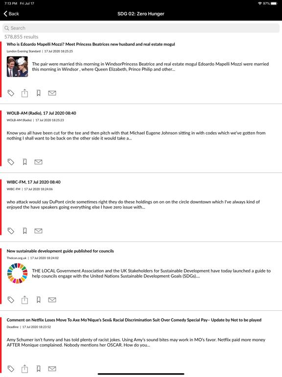LexisNexis Newsdesk® screenshot