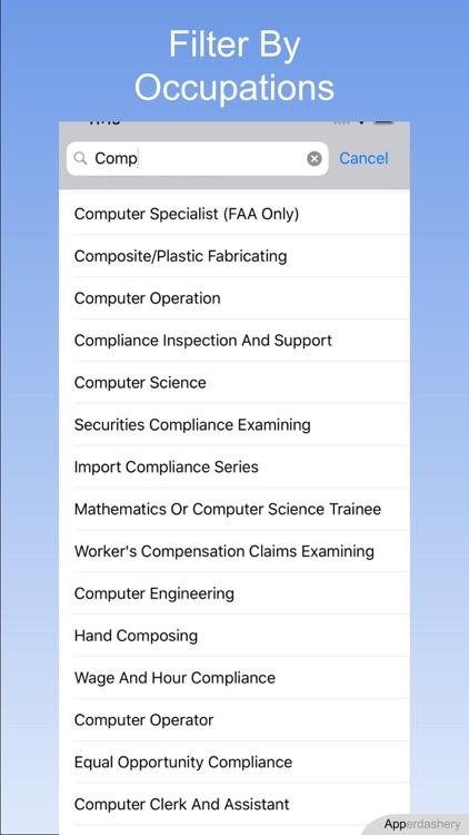 Gov Job Search screenshot-3
