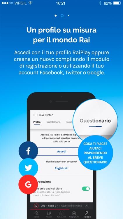 RaiPlay Radio screenshot-3