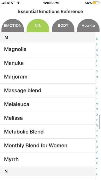 Screenshot for Essential Emotions Reference in New Zealand App Store