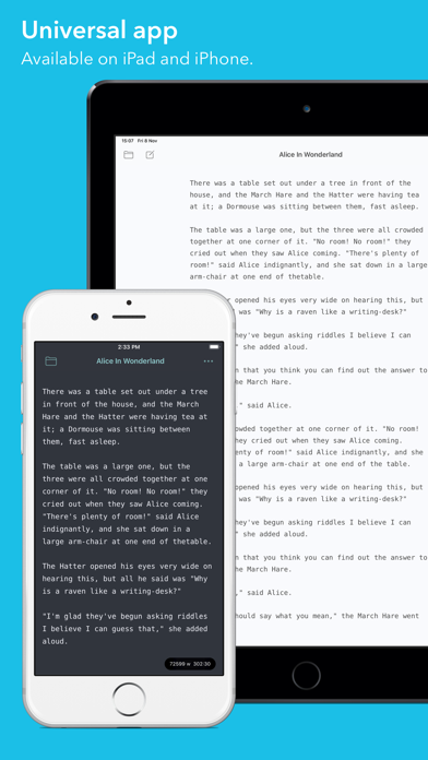 Iwriter review screenshots