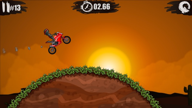 Moto X3M Bike Race Game Screenshot