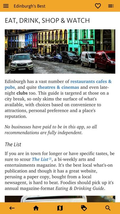Edinburgh's Best: Travel Guide screenshot-7