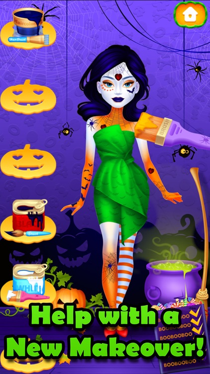 Halloween Makeover Simulator screenshot-0