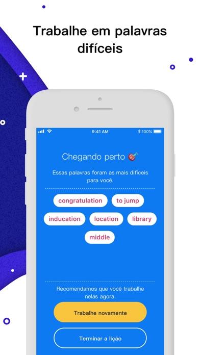 Screenshot for Rocka: Aprenda inglês in Brazil App Store