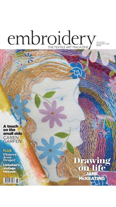 Embroidery Magazine. screenshot1