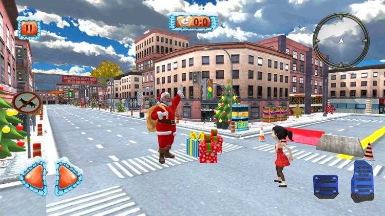 Christmas Santa City Driving screenshot-3