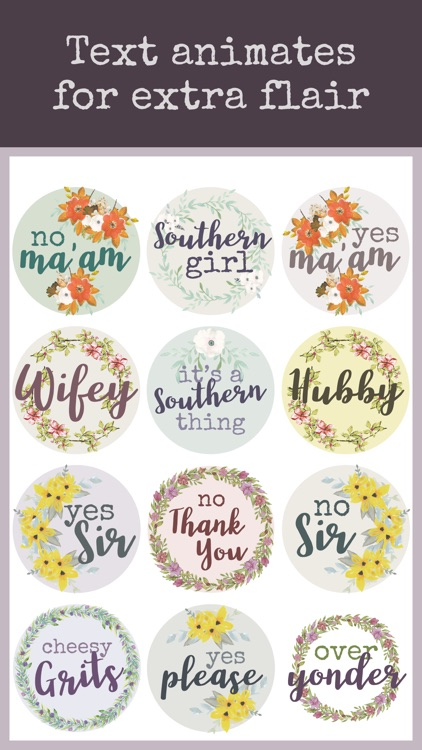 Southern Sayings Text Stickers screenshot-5