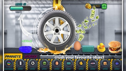 Crushing Things With Car Tyre screenshot 3