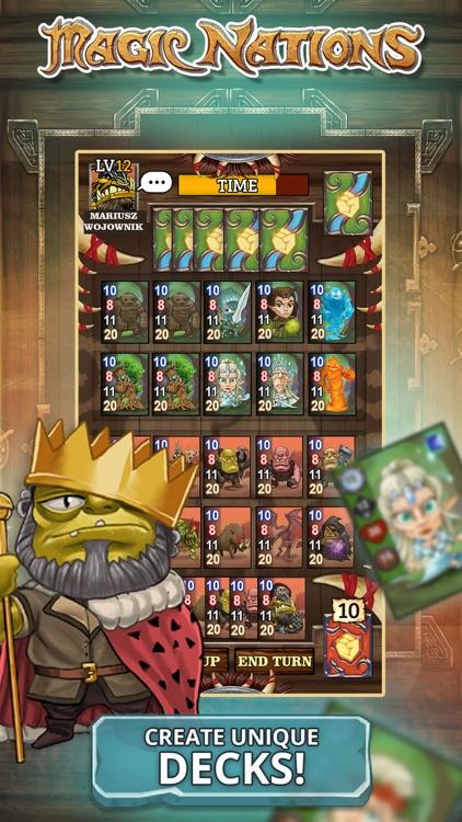 Magic Nations: Card Game screenshot-4