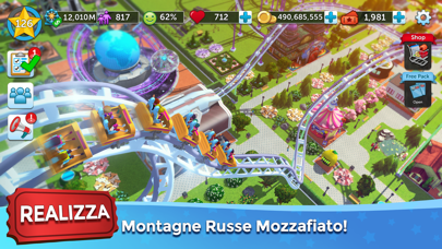 Screenshot of RollerCoaster Tycoon® Touch™3