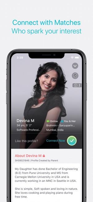 Shaadi com on the App Store