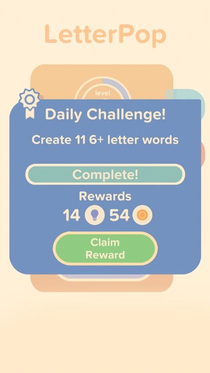 LetterPop - Word Game screenshot-4