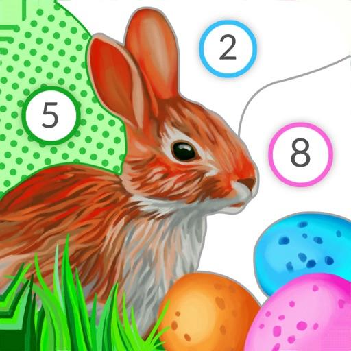 April Coloring - Kleurboek