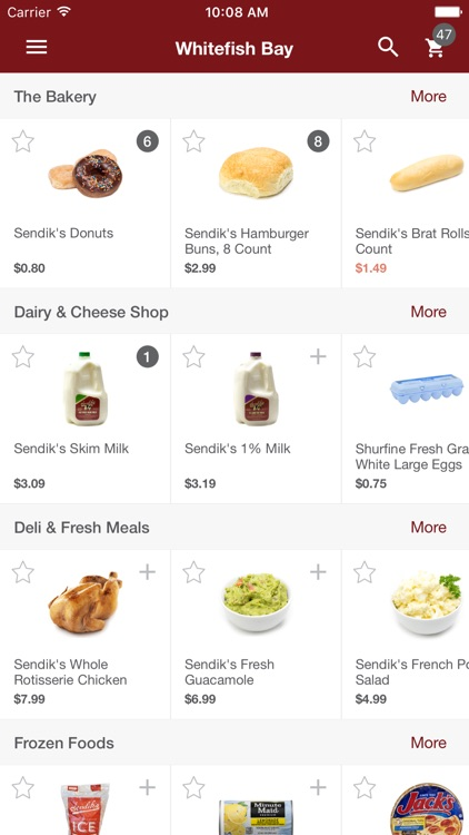 Freshop Groceries screenshot-0