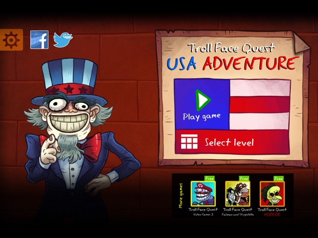 Troll Face Quest USA Adventure on the App Store