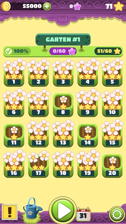 Mahjong Flower Garden Puzzle screenshot-4