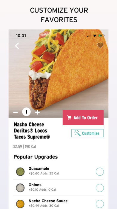 Taco Bell - For Our Fans Screenshot