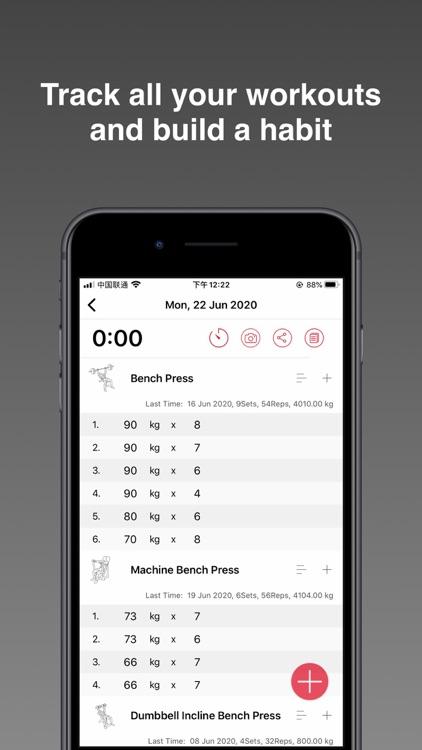 FitPal - Gym & Home Workout screenshot-3