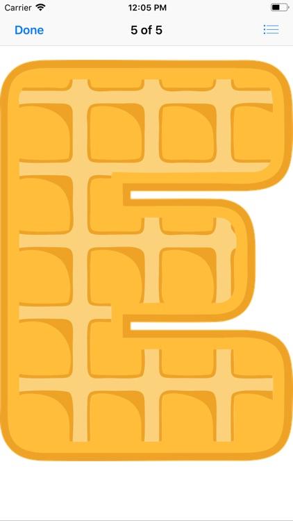 Waffle Letters screenshot-6